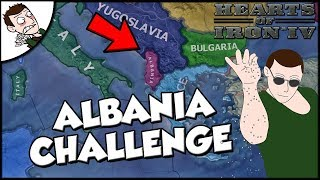 Hearts of Iron 4 Non Aligned Albania Survival Challenge (Road to 56 Mod)
