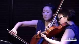 "Carnegie Hall Kronos Quartet Workshop: Performance of Terry Riley's ""Salome Dances for Peace"""