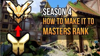 Overwatch - How To Get To Masters Rank (With Bad Aim)