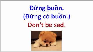 Learn Vietnamese Vocabulary #8: How to say