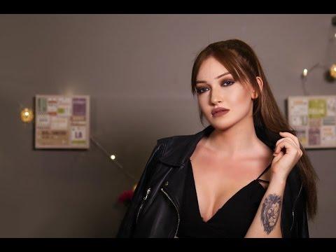 Instagram Profilinde ' Kün Feyekün ' Yazan Kız Makyajı