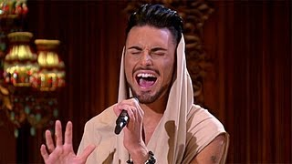 Rylan Clark's performance - Rihanna's We Found Love - The X Factor UK 2012