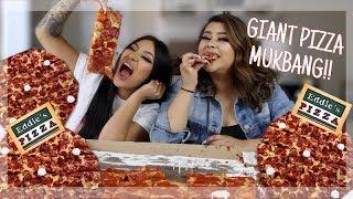 MUKBANG: THE WORLDS LARGEST PIZZA