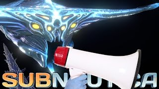AWESOME GHOST LEVIATHAN SOUNDS, Precursor Teleporter! Subnautica News And Updates
