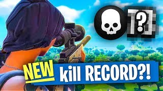 MY NEW KILL RECORD?! - Fortnite Battle Royale
