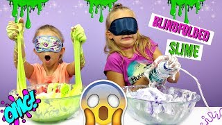 BLINDFOLDED SLIME CHALLENGE - Magic Box Toys Collector