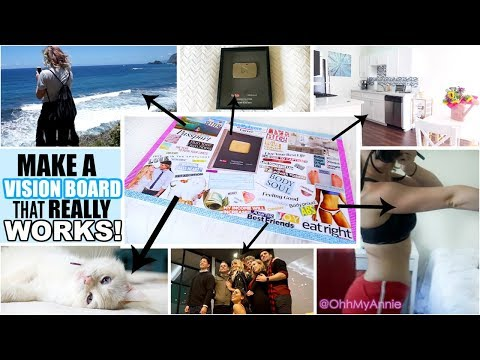 Xxx Mp4 How To Make A Vision Board That REALLY Works Step By Step Guide 2018 Vision Board 3gp Sex