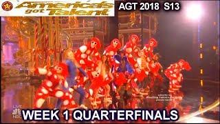 The PAC Dance Team THEIR BEST PERFORMANCE  Quarterfinals 1 America
