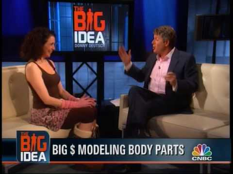 Ellen Sirot World s Most Famous Foot Model on The Big Idea