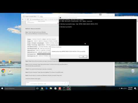 How To Activate Windows 10 For Free Without Any Software(EASY WAY) 2017 ☑️