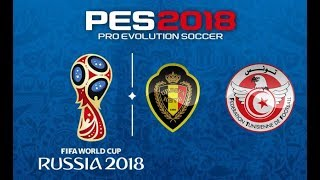 Belgium vs Tunisia Highlight Video Gameplay HD Russia World Cup 2018