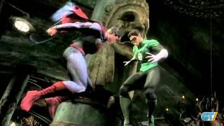 Injustice Gods Among Us - Battle Arena: Superman vs Green Lantern