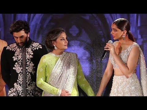 Mijwan 2018 : Deepika Padukone EMOTIONAL Speech After Walking The Ramp With Ranbir Kapoor