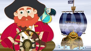New Episode The Adventures of Annie and Ben: The Ghost Ship | Cartoon For Children HooplaKidz Toons