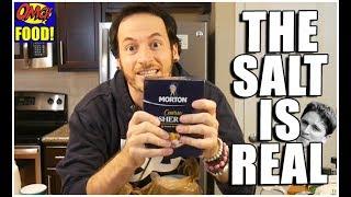 THE SALT IS REAL!     (Camera/Lighting/Mic Test, Kitchen Essentials)