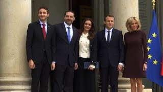 Saad Hariri et sa famille déjeunent à l
