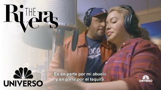 Juan and Chiquis in the studio | The Riveras | Universo