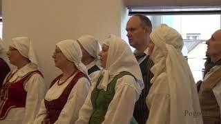 """Folkloro ansamblio """"Srauna"""" 15-o gimtadienio koncertas–vakaronė. Vadovė Toma Grašytė-Jegelevičienė."""