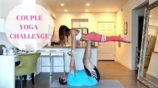 Couples Yoga Challenge | Jorge and Anfisa