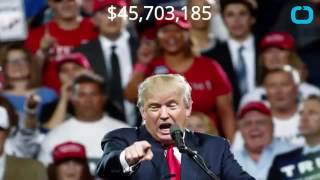 Donald Trump Forgives Loans He Gave To His Own Campaign