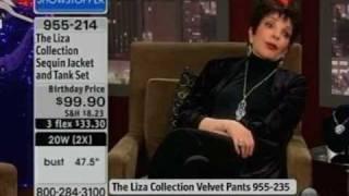 Liza Minnelli on HSN