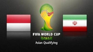 Indonesia Vs IR Iran: 2014 FIFA World Cup Asian Qualifiers - (Round 3, Match Day 5)