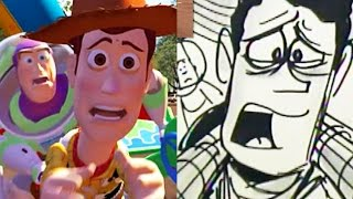 "Toy Story Side-By-Side : ""The Final Choice"" 