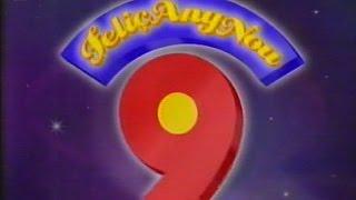 RTVV - Canal 9 - Promo Feliç any nou - María Abradelo - Gener del 1997