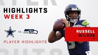 Russell Wilson Gets the Win w/ a Double-TD Day