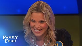 Make hot and dirty sound squeaky clean!! | Family Feud