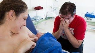 Nascimento Mariana, parto natural hospitalar pélvico - 04/jul/2013