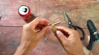 How to make a gun - homemade air gun | how to make an airgun? | mrgear
