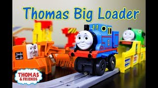 THOMAS AND FRIENDS Tomy Thomas Big Loader with Percy & Terence|Thomas & Friends Toy Trains for Kids