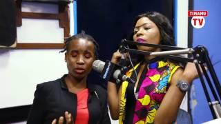 Waliyoongea Ebitoke na Mamaa Ashura kuhusu Alikiba na Diamond mbele ya Diva wa Clouds FM