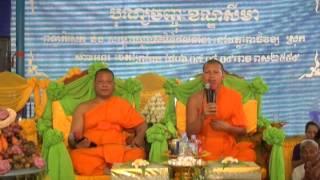 ទេសនាគ្រែ២ ស្រុកកំណើត ព្រះអង្គ ពៅ វុទ្ធី វត្តចិនដំដែក Dharma Talk 2 Seats At Watt Pothivong