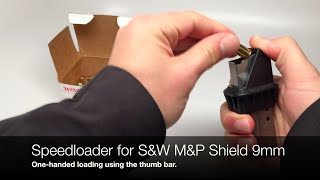 MakerShot Speedloader for Smith & Wesson Military & Police Shield 9mm