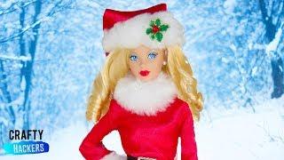 10 Best Hacks To Create DIY Miniature Winter Wonderland For Barbie