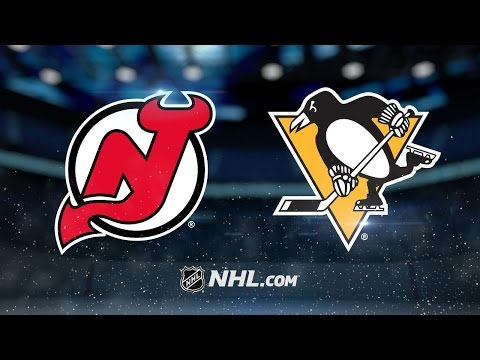 Crosby tallies two goals as Penguins down Devils 6 4
