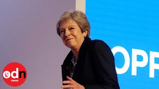 Woman of the people: Theresa May's best attempts to look ordinary, from footballer to Dancing Queen