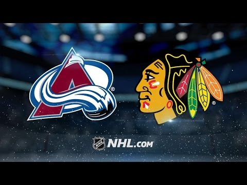 Blackhawks beat Avalanche behind 3rd period outburst