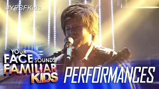 Your Face Sounds Familiar Kids: Justin Alva as Ed Sheeran - Thinking Out Loud