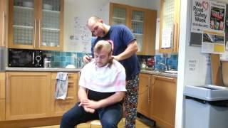 Hair today, gone tomorrow; Head shave raises over £1000 for DEC Emergency Appeal