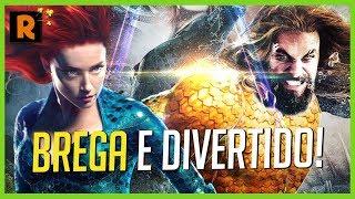 AQUAMAN É O FILME QUE A DC PRECISAVA! | Crítica