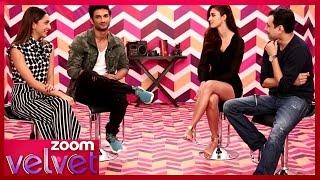 M.S. Dhoni: The Untold Story Movie Stars On zoom Velvet | Sushant,  Kiara, Disha & Neeraj | Promo
