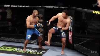 EA Sports UFC - Luke Rockhold vs Costas Philippou Gameplay (PS4 HD) [1080p]
