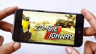 Zombie Highway 2 iPhone 6 Gameplay 4K