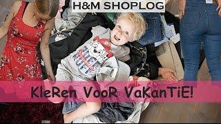 ZOMERKLEDiNG VOOR HELE GEZiN | MEGA H&M SHOPLOG #42