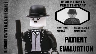 LEGO Patient Evaluation - Session #2 Richard Swift AKA The Shade