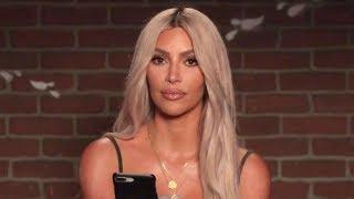 Kim Kardashian Reads Kanye West's Mean Tweets About Jimmy Kimmel