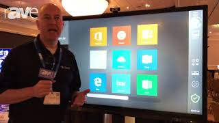 E4 AV Tour: Avocor Intros the Avocor Interactive Displays With FlatFrog In-Glass Touch